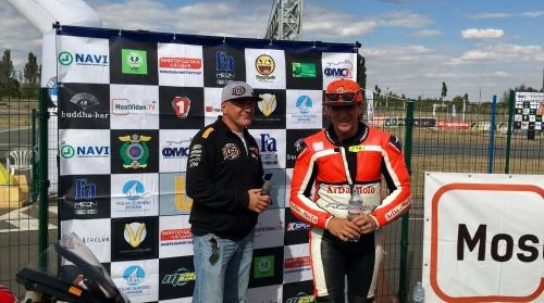 Комментарии победителей 4-го этапа чемпионата Украина в классах STK и LADY