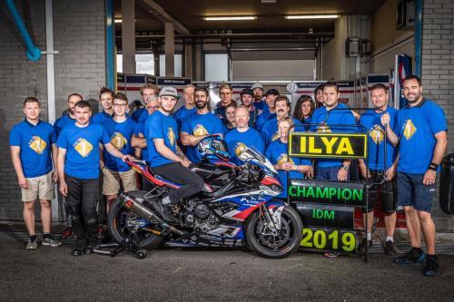 Илья Михальчик стал двукратным чемпионом IDM